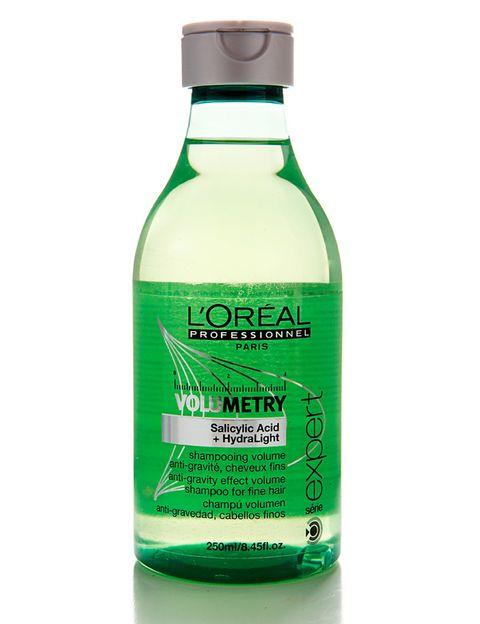 <p>'Champú Volumen Antigravedad' , especial para cabellos finos y formulado con ácido salicílico. De <strong>L'Oréal Professionel</strong> (18 €).</p>