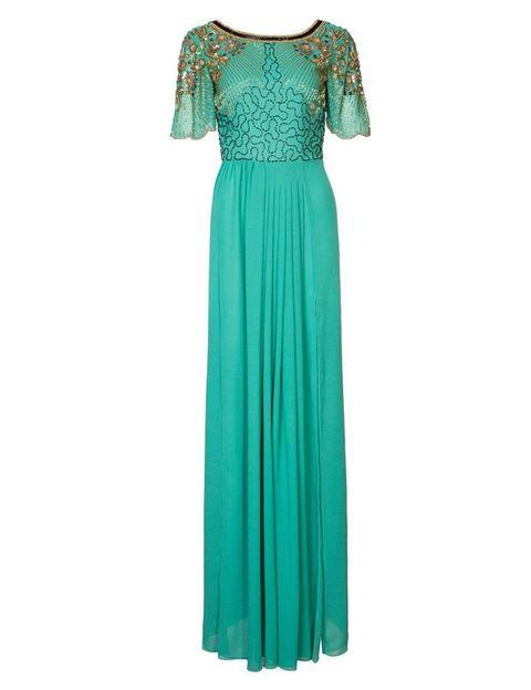 <p>Tienes una boda y quieres ir espectacular, no lo dudes, elige un vestido como éste de <strong>Virgos Lounge</strong>, 129 €.</p>