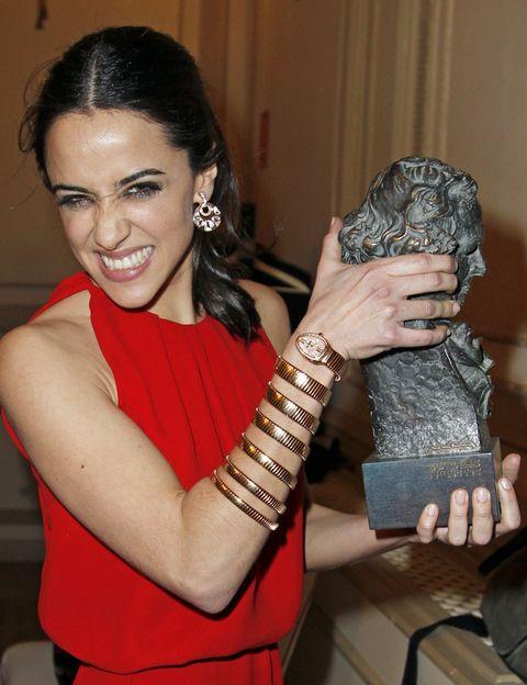 <p>Disfruta hoy que lo has conseguido, <strong>Macarena García</strong>. Te lo merecías y esa sonrisa expresa lo feliz que has sido de conseguirlo. ¡Enhorabuena!</p>