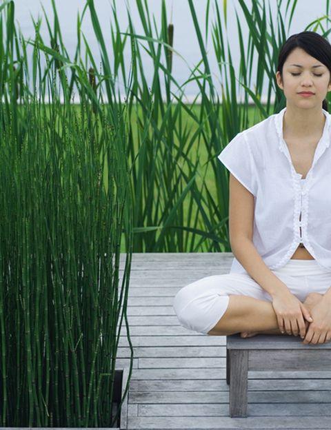 """<p>""""La meditación es un puente entre tu entorno y tú. <strong>Cuando meditas, eliminas esa gran enfermedad mental de la humanidad, el concepto de la separación""""</strong>, dice este maestro.""""Te das cuenta de tu posición respecto a tu entorno, de tu relación con lo que te rodea… es el significado de 'estar presente'"""", dice. """"Cuando ocurre, <strong>te cambia la vida porque pierdes el resultado de esa gran enfermedad: el miedo.</strong> Sentimos miedo cuando sentimos separación, cuando no sabemos ubicarnos respecto a nuestro entorno"""", explica. <strong>""""Tu entorno se vuelve desconocido y hostil. En cambio, cuando meditas, sabes dónde estás</strong>, quien eres y cuál es tu relación con el entorno, y el miedo desaparece porque pierde su razón de ser"""", añade.</p><p>&nbsp;</p>"""