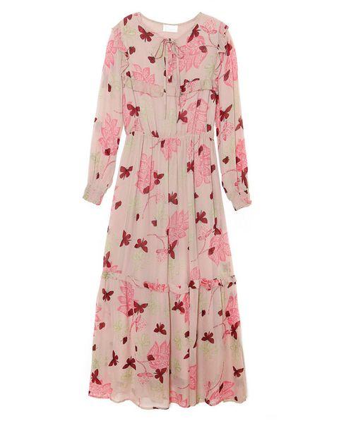 <p>Vestido estampado de <strong>Strena (115,70 euros)</strong>. ¡Eco-print style!</p>