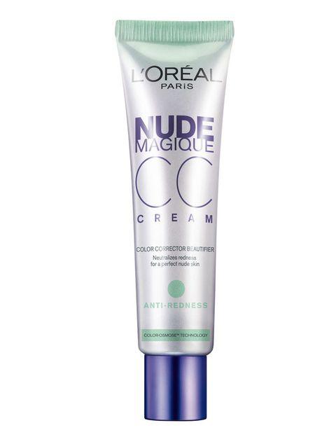 <p>'Nude Magique CC Cream' (11,95 €), de <strong>L'Oreal</strong>. Corrige las rojeces.</p>