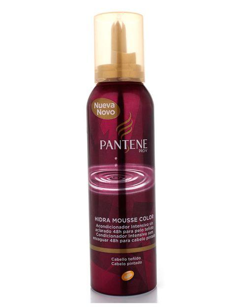 <p>'Hidra Mousse' (5,49 €), de <strong>Pantene</strong>. Cuida e hidrata los cabellos teñidos.</p>