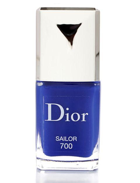 <p>&nbsp&#x3B;'Vernis' (23,50 €), de <strong>Dior</strong>. En el tono 'Sailor'.</p>