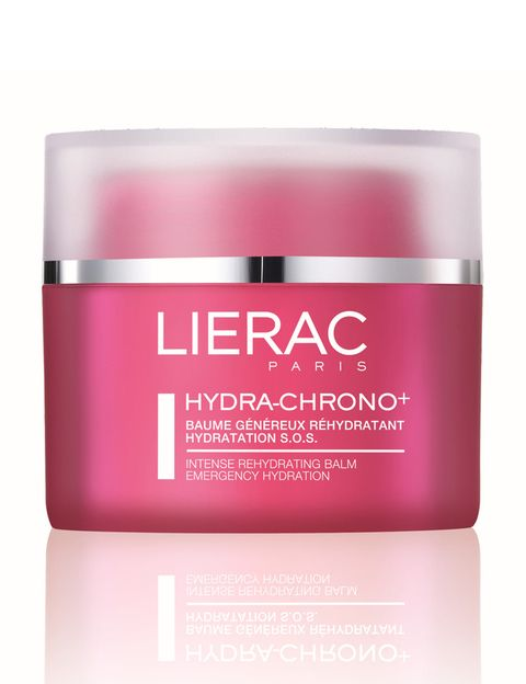 <p><strong>Hidra Chrono+</strong> de <strong>Lierac</strong>. Bálsamo generoso rehidratante con extracto de flor de cerezo y rosa (39,50 €).</p>