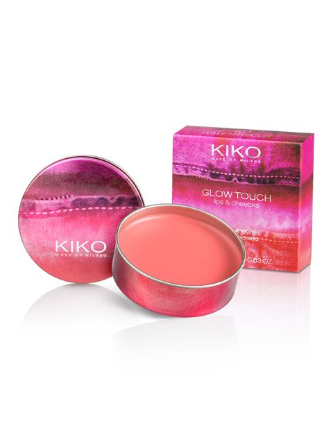 <p><strong>Glow Touch Lips &amp&#x3B; Cheeks</strong> de <strong>Kiko</strong>. Brillo de labios y colorete en crema con acabado luminoso. Edición limitada (5,90 €).</p>