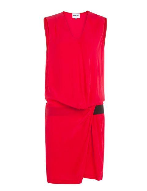 <p>Vestido rojo de&nbsp;<strong>Bimba&amp;Lola</strong>, 42 €.</p>