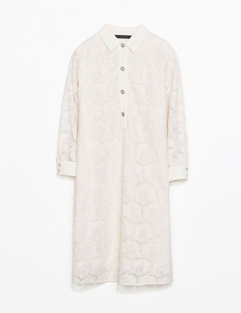 <p>Camisero en color crudo de Zara, 49,95 €.</p>
