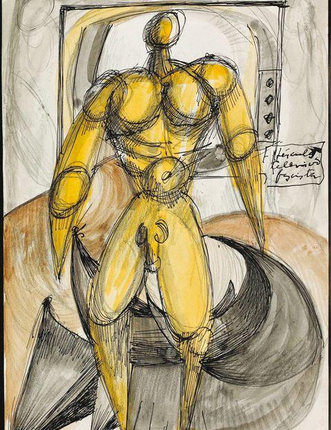 <p>Los dibujos del escultor vasco no fueron concebidos para ser mostrados, sino como parte del proceso de investigación de su obra. El IVAM de Valencia exhibe parte de estos trabajos centrados en la temática erótica. A partir del 13 de junio.</p>