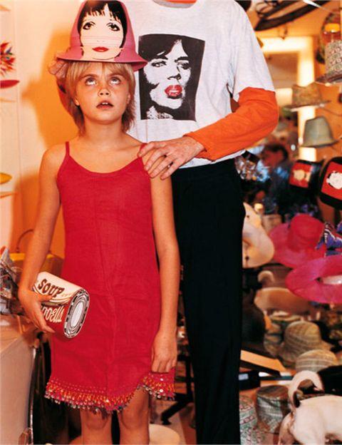 <p>Debutó como modelo con solo 8 años en un editorial de la edición italiana de Vogue Italia, fotografiada por Bruce Weber. Con 17 años fue fichada por la agencia de modelos Storm.</p>