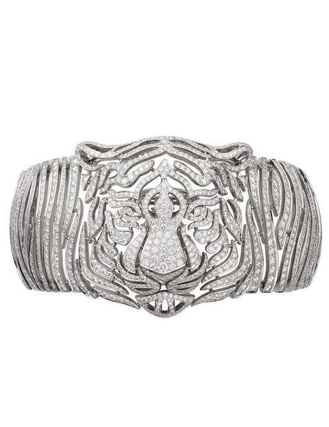<p>Pieza de alta joyería con forma de tigre, de <strong>Cartier</strong>.</p>