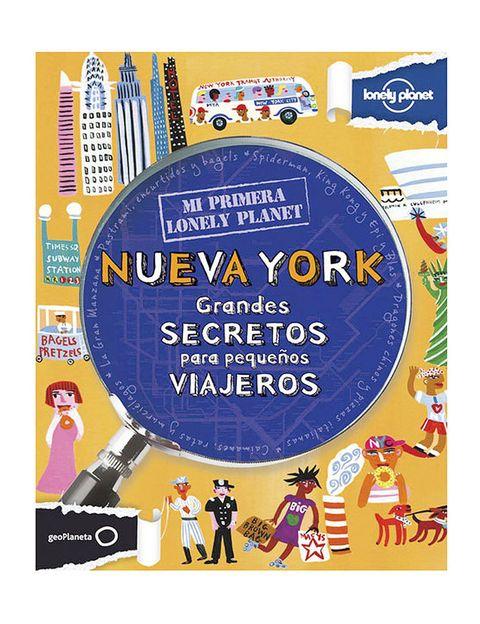 <p><strong>Mi primera Lonely Planet,</strong> un libro divertidísimo y ameno para que los más peques se adentren en la historia y la cultura de ciudades como Roma o Nueva York. Con imágenes en 3D, viñetas y bocadillos a la manera de los cómics (9,95 €).</p>