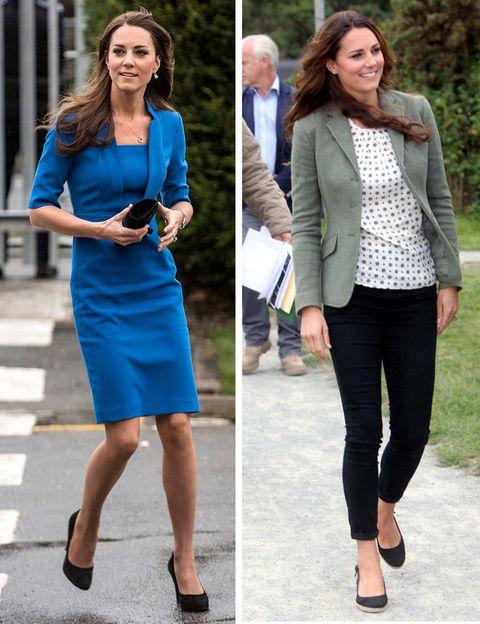 <p>El envidiable cuerpo de <strong>Kate Middleton</strong> gana enteros con dos kilos más que con dos menos... preferimos a la británica menos delgada que su imagen actual.</p>