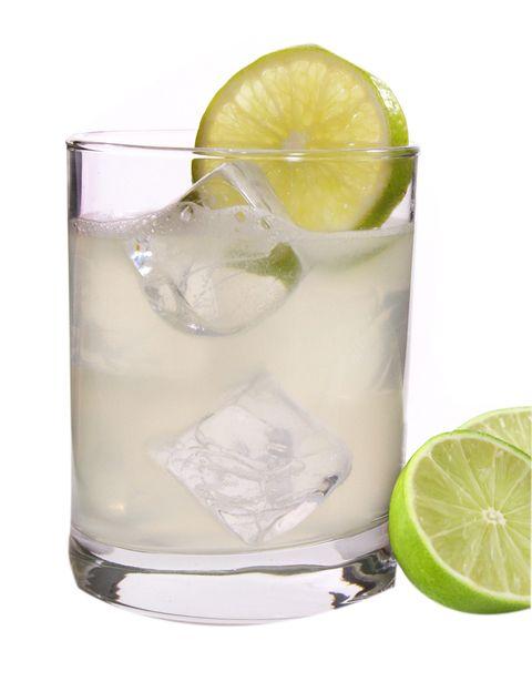 <p>Es un cóctel digestivo, que debe servirse en copa 'high ball'. Se creó en Estados Unidos, en torno a los años 20.</p><p><strong>1.</strong> Echamos en la coctelera 60 ml de ginebra, sin hielo.</p><p><strong>2.</strong> En un litro de agua caliente deshacemos un kilo de azúcar y vertimos un litro de zumo de limón. Del resultado, echamos en la coctelera 50 ml. Evidentemente, si sólo vamos a preparar un coctel, se pueden reducir mucho los ingredientes, pero siempre en esta proporción.</p><p><strong>3.</strong> Echamos un chorrito de clara de huevo sin batir.</p><p><strong>4.</strong> Agregamos el gusanillo que viene en el colador para coctelería, la cerramos y agitamos enérgicamente.</p><p><strong>5.</strong> Abrimos la coctelera y echamos hielo.</p><p><strong>6.</strong> Cerramos, volvemos a agitar y lo servimos todo, hielo incluido.</p><p><strong>7.</strong> El toque final en la copa: un chorrito de soda, una cuña de lima, una pajita, ¡y listo!</p>