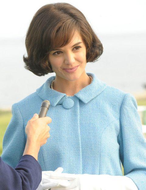 <p><strong>Katie Holmes</strong> fue&nbsp;Jackie en una mini serie para televisión de 2011.&nbsp;</p>