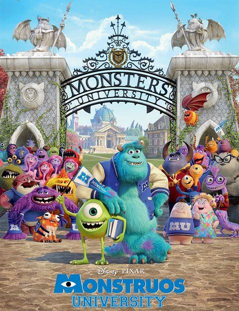 <p>La nueva entrega de los simpáticos monstruos de Pixar se centra ahora en la universidad. Hasta allí llega ilusionadísimo Mike Wazowski, con el firme propósito de convertirse en el mejor 'asustador'. Si es la mitad de buena que la primera, mercerá la pena.</p>