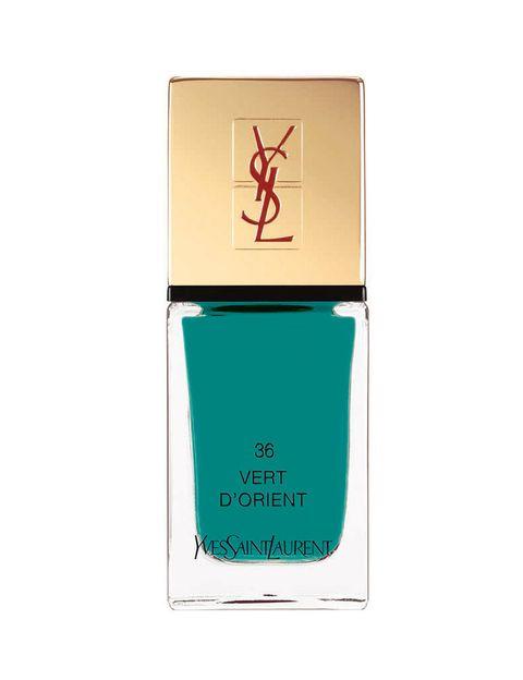 <p>'La Laque Couture', en el tono 'Vert D'Orient', de <strong>Yves Saint Laurent</strong>.</p>
