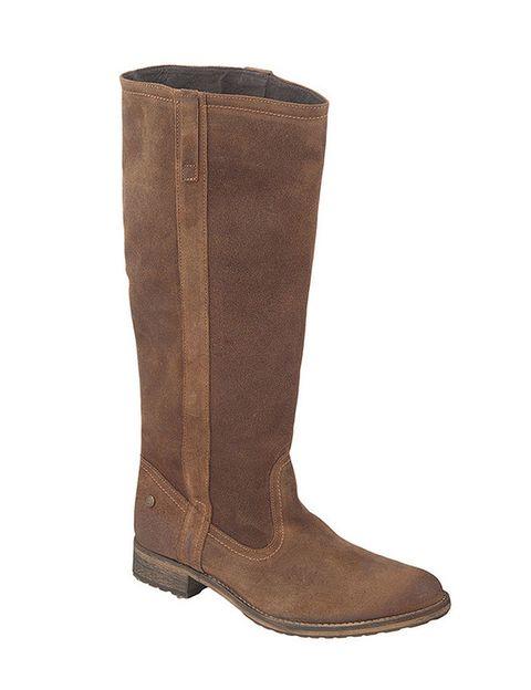 <p>Fabricadas con serraje engrasado en tono marrón, son de <strong>Is to Me</strong> para <strong>El Corte Inglés</strong> (99,90 €).</p>
