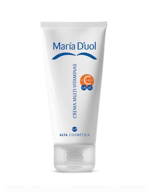 <p><strong>¿Por qué? </strong>porque la piel va perdiendo agua por la actividad metabólica y al deshidratarse permite que los agresores externos penetren.</p><p>Para mantenerla saludable y prevenir su envejecimiento hay que hidratarla con una buena crema.</p><p><strong>Recomendamos... Crema Multivitamínica de María D'uol. </strong>Es 3 en 1: antiarrugas, antimanchas y refirmante. Contiene Retinol, Vitamina C, E, extracto de avena, de malta y filtros solares entre otras propiedades (43,90 €).</p><p></p>