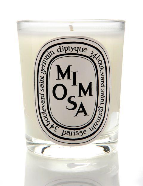 <p>'Mimosa' (46 €), vela perfumada de <strong>Diptyque</strong>.</p>