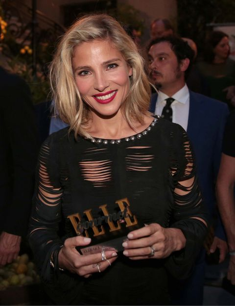 <p><strong>Elsa Pataky</strong> deslumbró sobre la alfombra roja y recibió muy emocionada su premio de Icono Healthy.&nbsp;</p>
