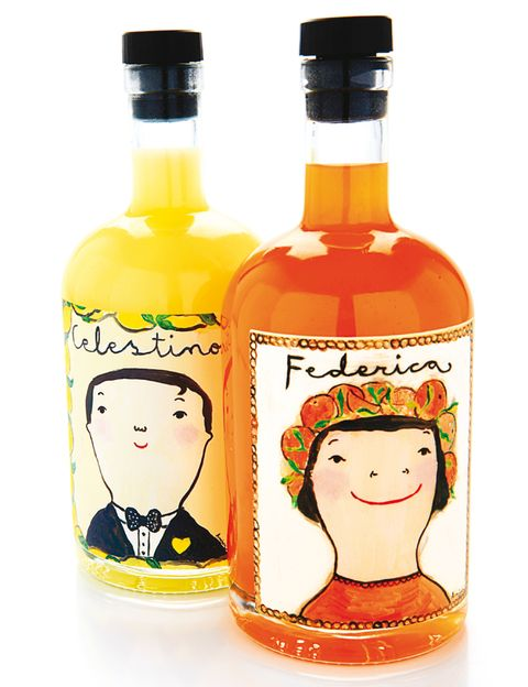 <p>Federica, un licor artesanal de naranjas de Valencia, y Celestino, un limoncello con receta siciliana, forman el dúo perfecto, son alegres y se beben muy fríos (19 €/u.)</p>