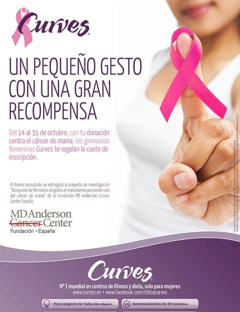"""<p>Como nos recuerdan desde <a href=""""/edicion/gallery/578038/1%20de%20cada%2011%20mujeres"""" target=""""_blank"""">Curves</a>, el cáncer de mama afecta a una de cada 11 mujeres en el mundo. Según la Organización Mundial de la Salud (OMS), <strong>este cáncer es el más común entre las mujeres en todo el mundo</strong>, pero a la vez, tiene un alto índice de curación si se detecta de forma precoz. <strong>Por este motivo es tan importante la prevención</strong>. Según la <a href=""""/edicion/gallery/578038/%20https:/www.aecc.es/Paginas/PaginaPrincipal.aspx"""" target=""""_blank"""">Asociación Española Contra el Cáncer (AECC)</a>, reducir el riesgo de sufrir esta enfermedad es posible llevando un estilo de vida saludable. A continuación te contamos los <strong>factores de riesgo, los síntomas y los must que debes incluir entre tus hábitos</strong> de vida para prevenir esta enfermedad.</p><p></p>"""