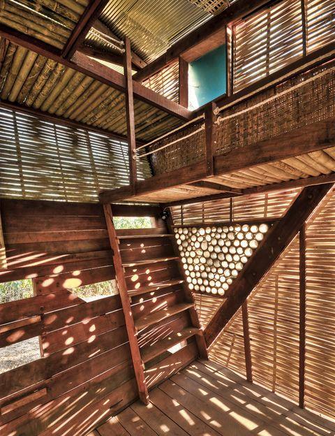 <p> La escasez de medios agudiza la creatividad de estudios de arquitectura, cuyos proyectos en zonas precarias llegan al <strong>Museo ICO.</strong> Aquí, el orfanato tailandés de los noruegos TYIN.<br /><i>Madrid. Hasta el 18 de mayo.</i></p>