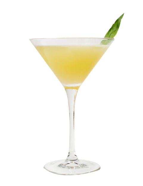 <p>Al igual que el anterior, es un coctel de aperitivo, pero mucho más suave que el Negroni. Se debe servir en copa de Martini.</p><p><strong>1.</strong> Llenamos la copa de hielo para que se vaya enfriando. Hasta arriba.</p><p><strong>2.</strong> Echamos bastante hielo en la coctelera y lo giramos con una cuchara larga para enfriarla. Se trata de hacerlo sin que el hielo se rompa. El agua que va quedando la echamos en la copa para que vaya tomando la temperatura adecuada.</p><p><strong>3.</strong> Cogemos tres hojas de albahaca. Les damos una palmada para quebrarlas un poco sin romperlas y las echamos en la coctelera.</p><p><strong>4.</strong> Incorporamos 45 ml de ginebra Tanqueray, 30 ml de cordial de lima y removemos.</p><p><strong>5.</strong> La copa ya estará fría, la vaciamos y servimos en ella contenido de la coctelera. Le agregamos una cáscara de lima para aromatizar, y disfrutamos.</p>