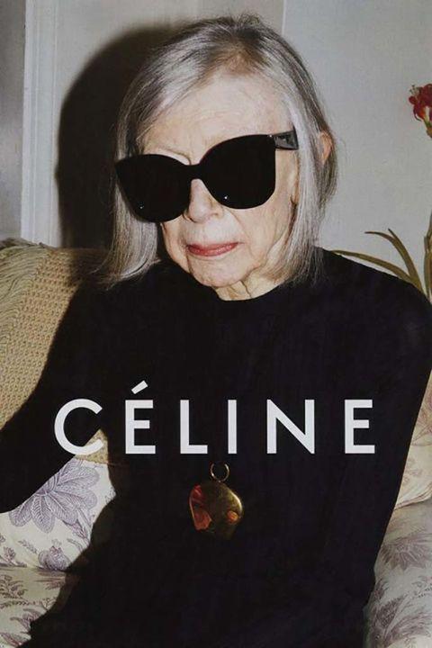 <p><strong>Joan Didion&nbsp;</strong>para&nbsp;<strong>Céline.</strong></p>