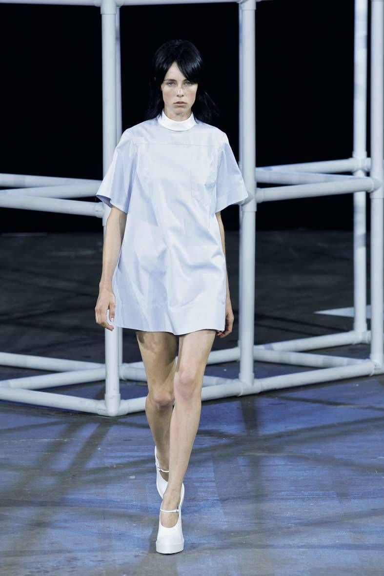 <p>Diseñador: Alexander Wang. <strong>New York Fashion Week.</strong></p>
