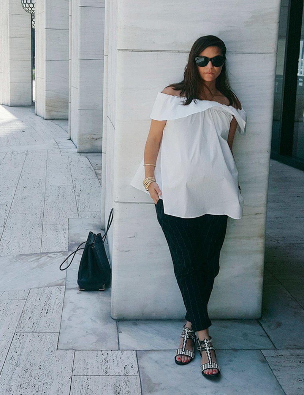 a9c37b608 Looks de embarazada  9 meses con estilo - Cómo vestir durante el embarazo