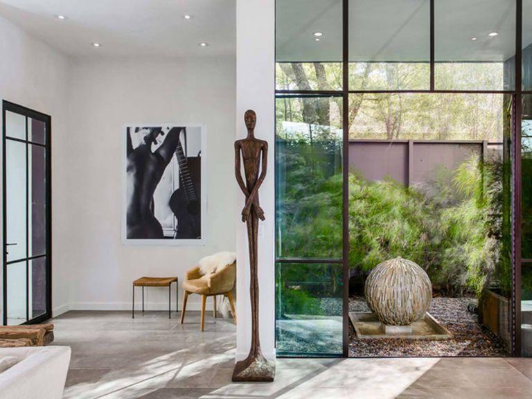 Una casa de cristal en venice beach for Casa minimalista rustica