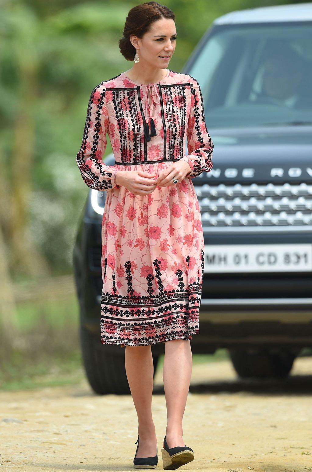 Kate Middleton y su viaje a la India