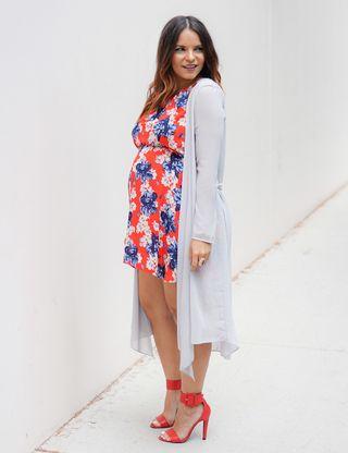 rebajas(mk) precio favorable zapatos de separación Looks de embarazada: 9 meses con estilo - Cómo vestir ...