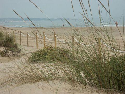 <p>La ciudad costera de Gandía tiene una playa muy extensa y han decidido reservar un tramo para aquellos que quieren practicar el nudismo estas vacaciones. La Playa de L'Ahuir cuenta con todos los servicios de una playa corriente y, además, tiene otra peculiaridad a parte del naturismo, y es que es <i>dogfriendly</i> para que disfrutes con tu mascota.</p>