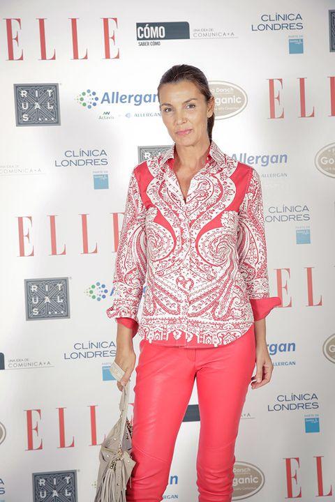 <p>La ex Miss España <strong>Mar Flores</strong> no quiso perderse nuestras charlas de belleza. En la imagen, posando en el 'photocall'.</p>