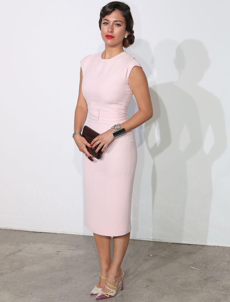 Outfit vestido rosa boda