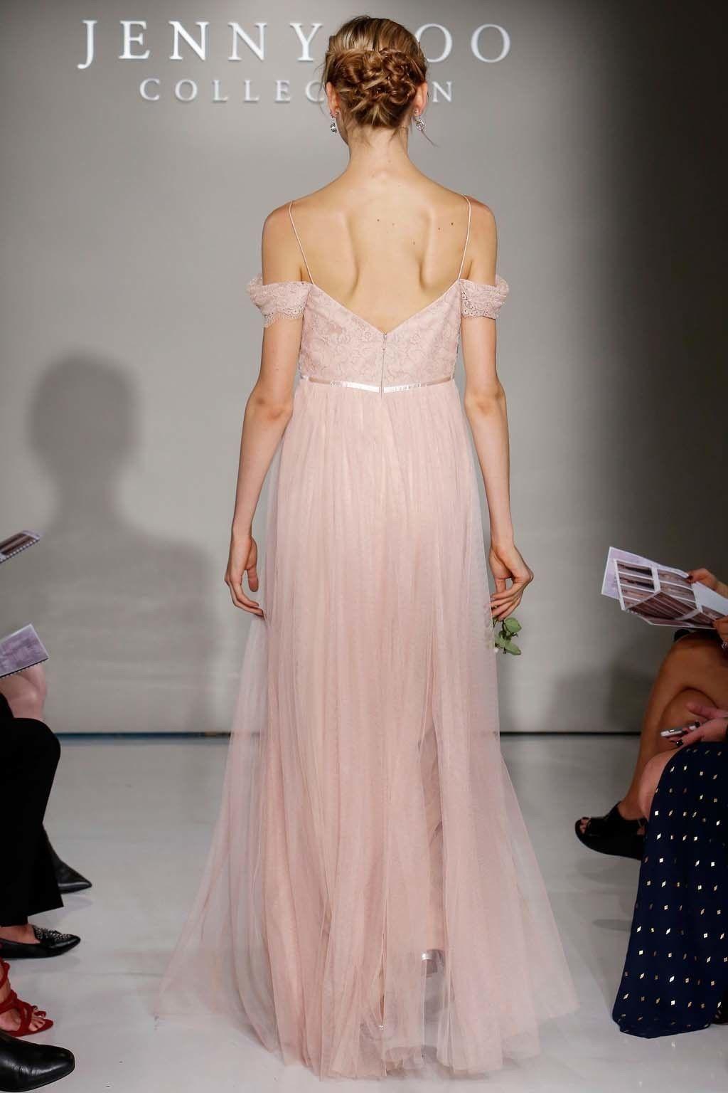 Contemporáneo Vestido De La Dama Jenny Yoo Imágenes - Colección de ...
