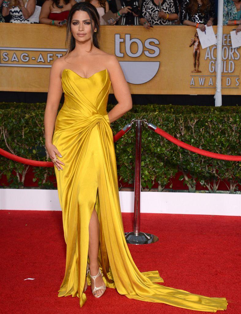 Color De Último AmarilloEl Las Celebrities W9IYE2DH