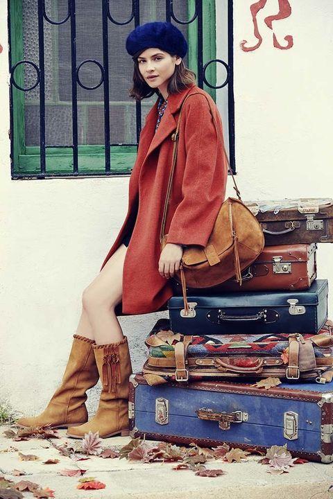 <p>&nbsp;</p><p>La colección de piel en botas y botines da mucha importancia a los materiales ya caballos de calidad.</p>