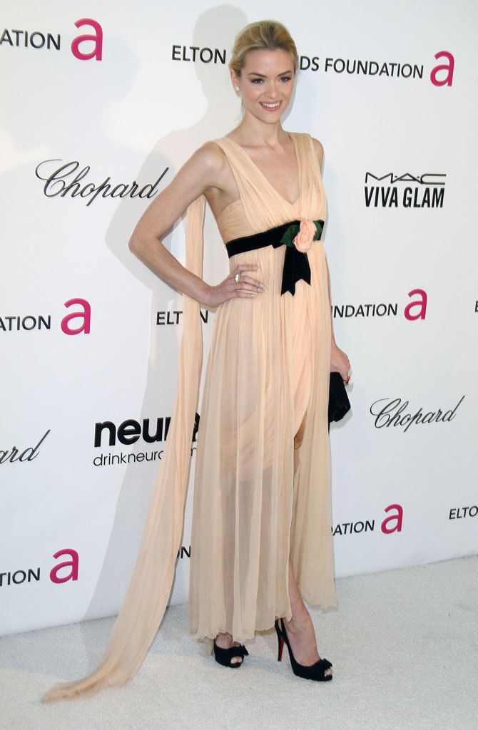 Jennifer Lawrence, de Alta Costura Christian Dior