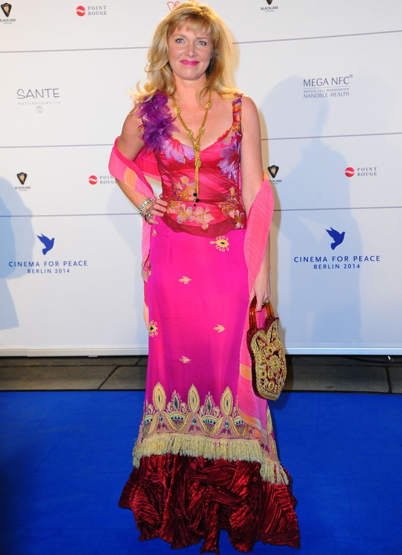 Diane Kruger, una novia de Elie Saab