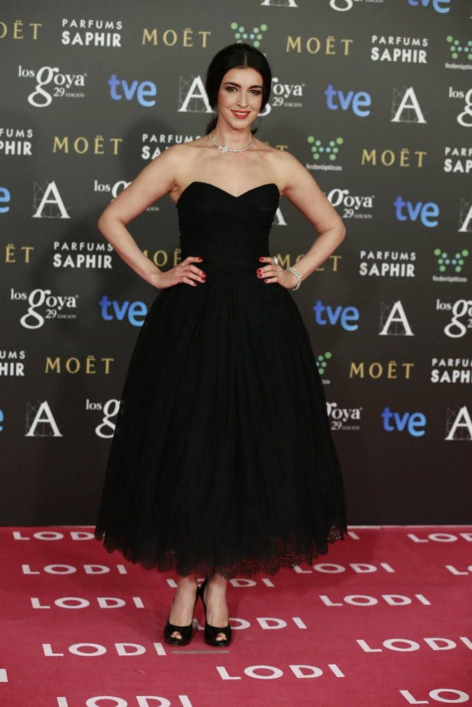 <p>Con un corte complicado,Blanca Romero acertó con su Dolce & Gabbana en negro.</p>