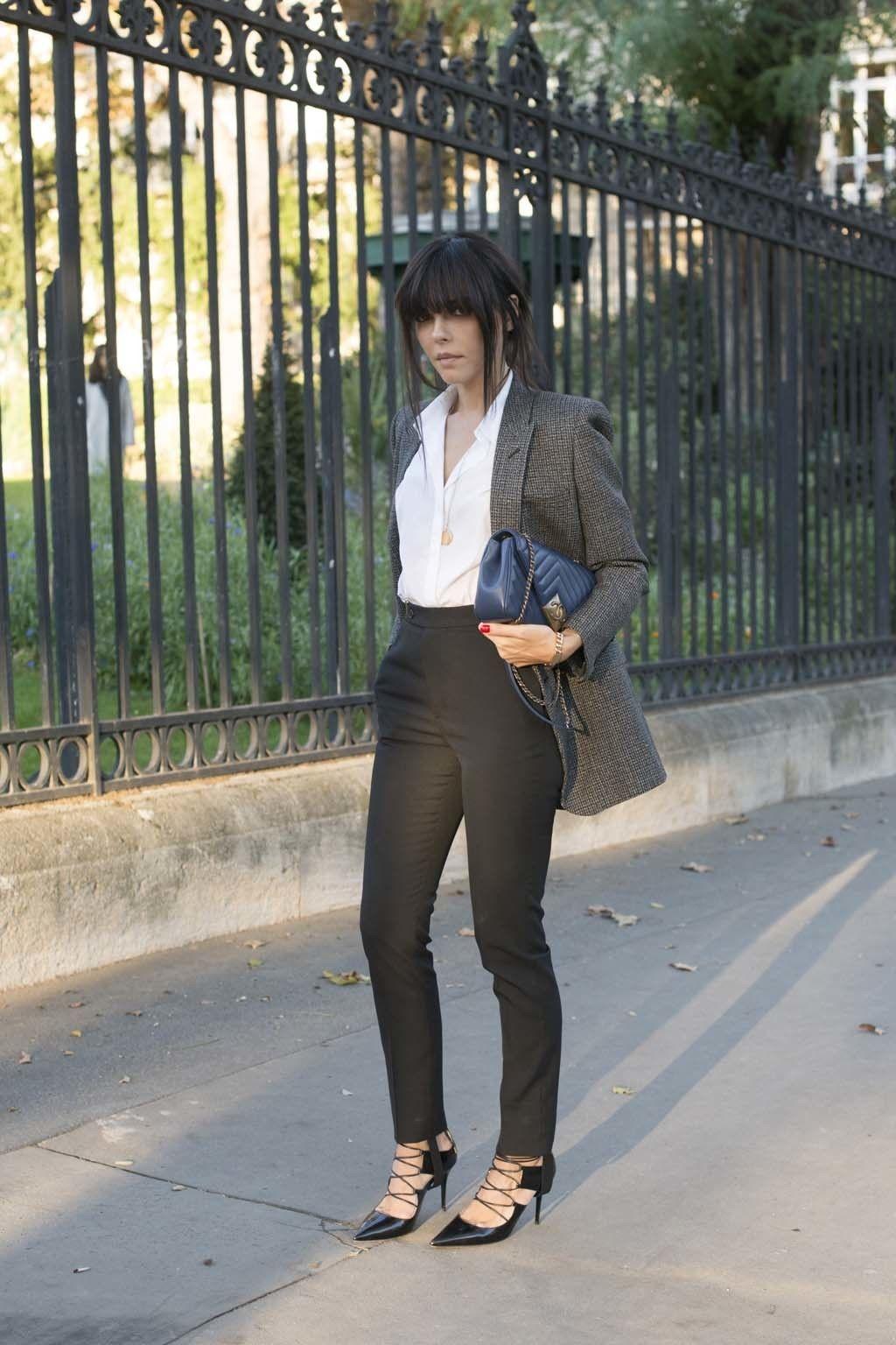 <p>Masculino perfecto en tweed para un working look.</p>