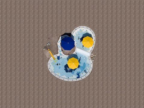 <p>El fotógrafo Stephan Zirwes ha tomado fotos aéreas de piscinas de un intenso color azul en la zona del sureste de Alemania (las querrás como fondo de pantalla).&nbsp;</p>