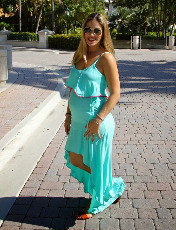 47746771a Looks de embarazada  9 meses con estilo - Cómo vestir durante el embarazo