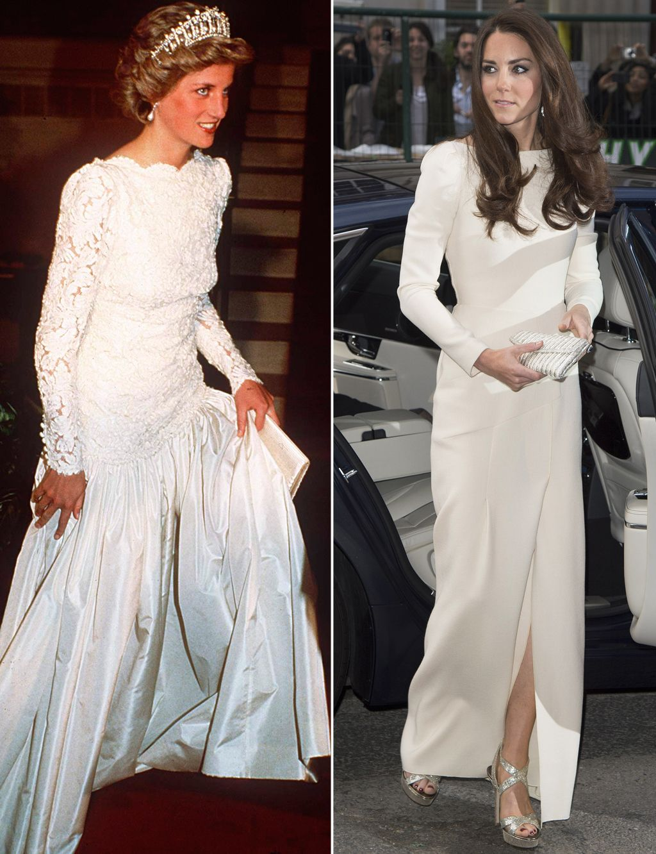 Vestidos de fiesta de la princesa kate