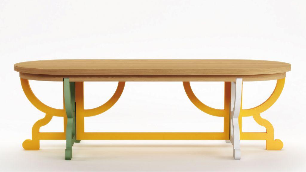 <p>Por su forma, colores y conciencia eco, nos hemos enamorado de esta mesa, de la col. Paper Patchwork, muebles de papel reciclado, de <strong>Studio Job &amp&#x3B;Moooi.</strong>&nbsp&#x3B; </p>