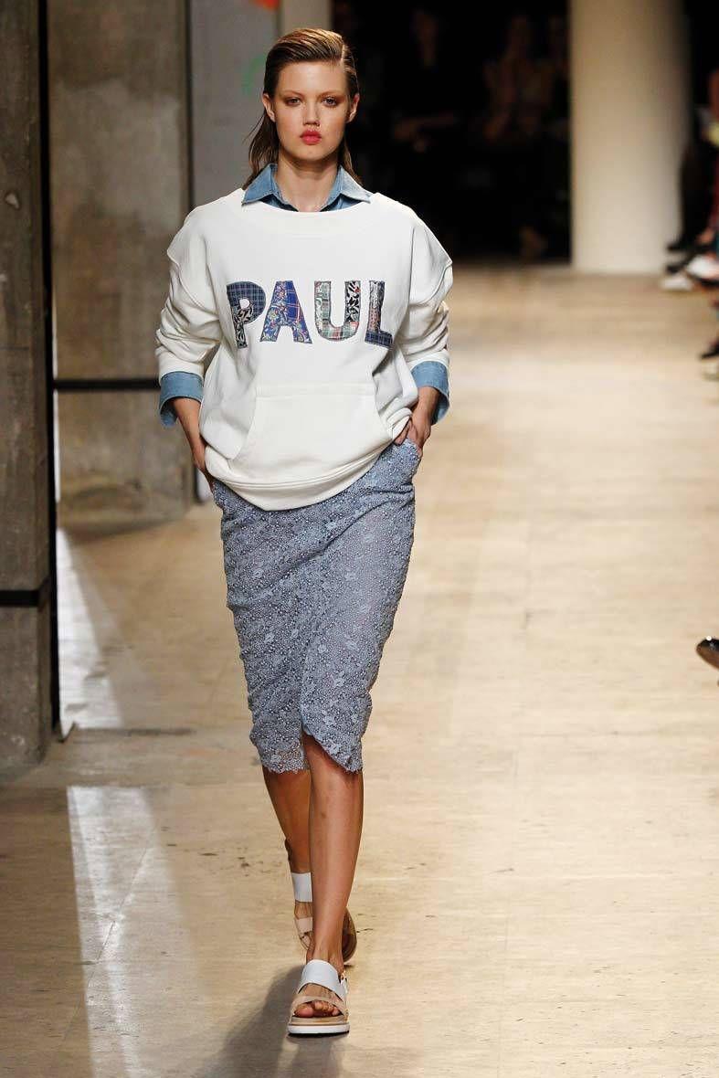 <p>Diseñador: Paul & Joe. <strong>Paris Fashion Week</strong>.</p>